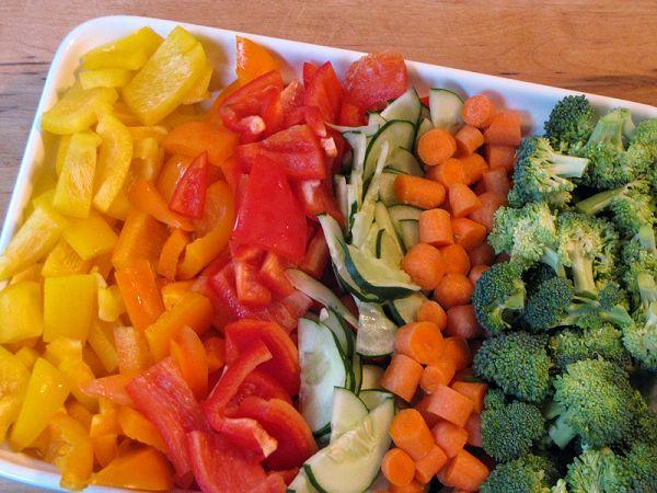 Що приготувати з овочів некрахмалістих