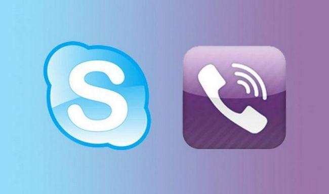 Що встановити - skype або viber?