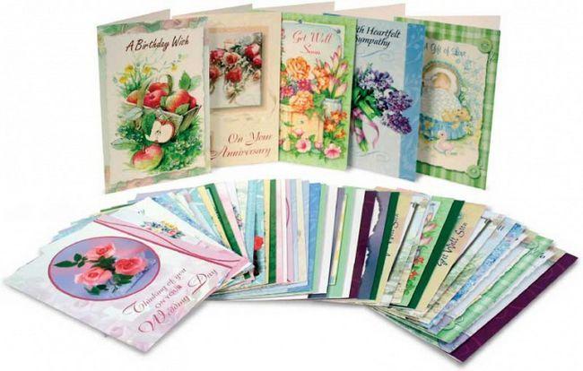 Декоративні листівки своїми руками