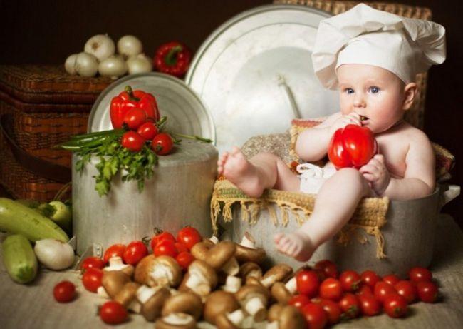 Дитячі салати - основа меню для дитини