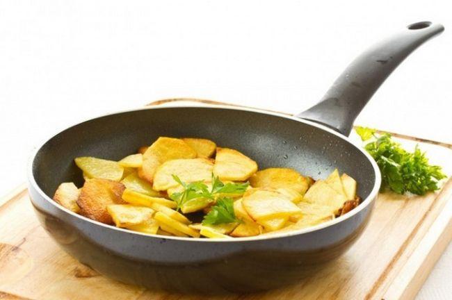 Як підсмажити картоплю зі скоринкою