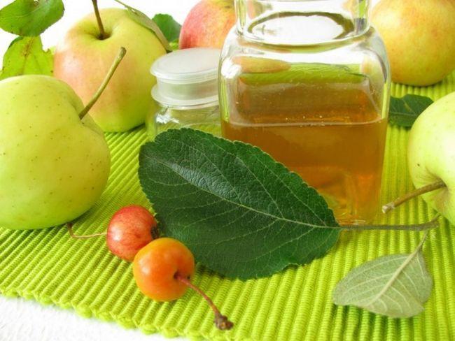 Як в домашніх умовах зробити яблучний оцет