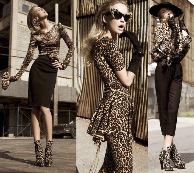 Леопардовий принт в одязі та аксесуарах