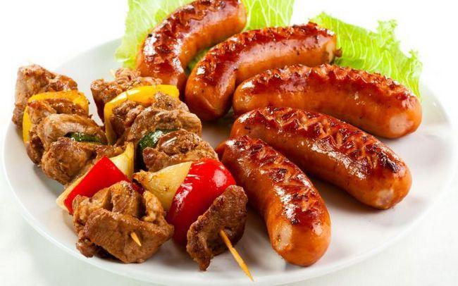 Шашлик на пиві (свинина, курка, яловичина і баранина)
