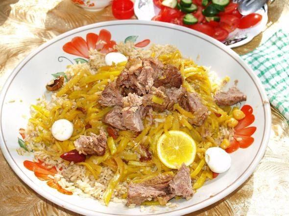 Шавло - готуємо страви узбецької кухні