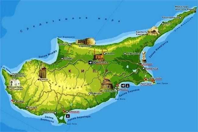 Чи потрібна для росіян віза на кіпр
