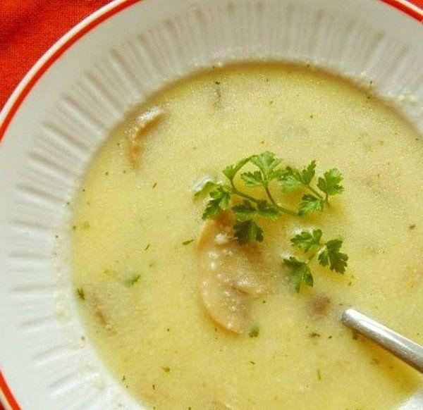 Суп-пюре з картоплі і риби